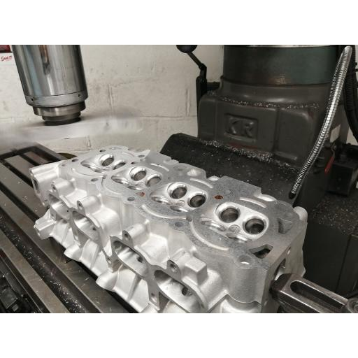 Facing / Skimming 4 cylinder Head