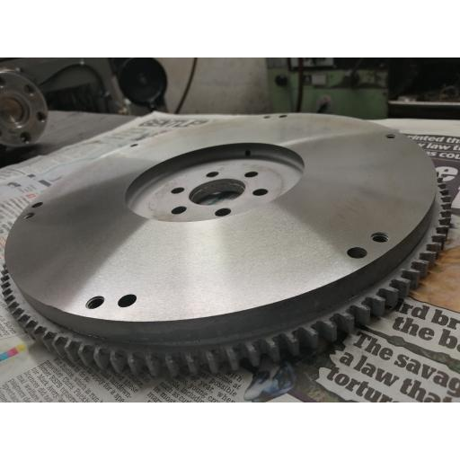 Facing / Skimming flat flywheel