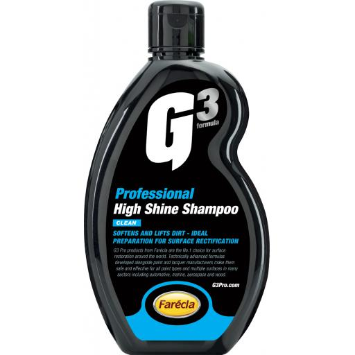 G3 Pro - High Shine Shampoo - 500ml