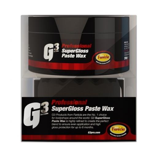 G3 Pro - Supergloss Paste Wax - 200g