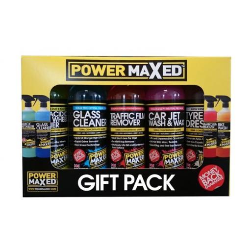 Power Maxed Car Valet Gift Pack