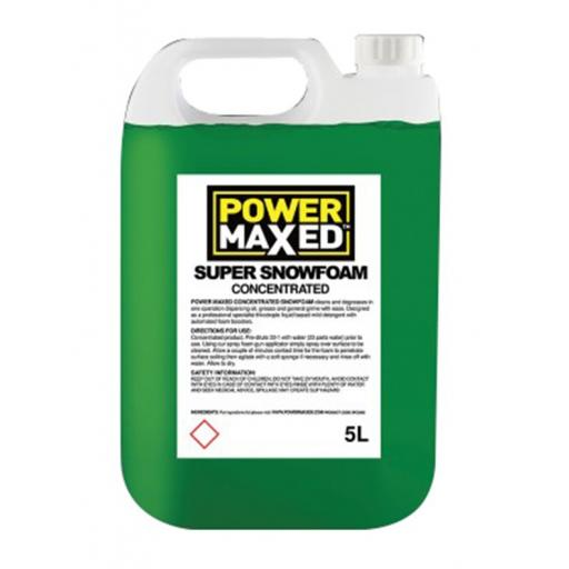 Power Maxed Snow Foam 5Ltr Concentrate
