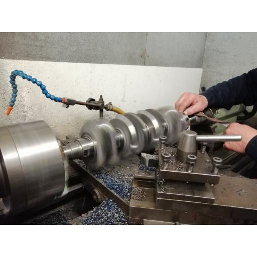 crankshaft knife edging