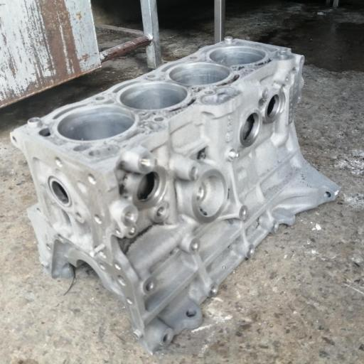 ACID and Caustic treatment (engine block)