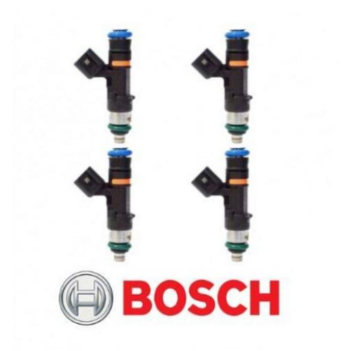 Genuine Bosch 0280158117 EV14 EV6 52lb 550cc Fuel Injectors (set of 4)