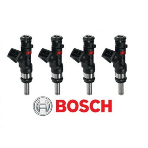 GENUINE Bosch EV1 56lb / 590cc 613cc Long Nozzle 6-Hole Fuel Injector 0280158123 (set of 4)