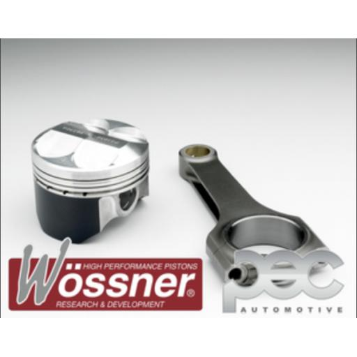 Citroen Saxo VTS / Peugeot 106 GTI 1.6 16v High Comp Wossner Forged Pistons & PEC Steel Connecting Rod Kit