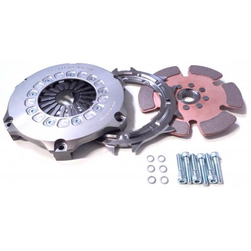 TTV Racing Compact Single Plate Race Clutch 184mm (7.25″)