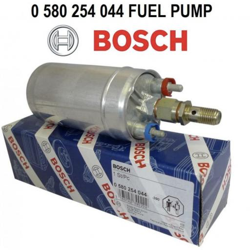 NEW GENUINE BOSCH 044 IN-LINE EXTERNAL FUEL PUMP 0580254044